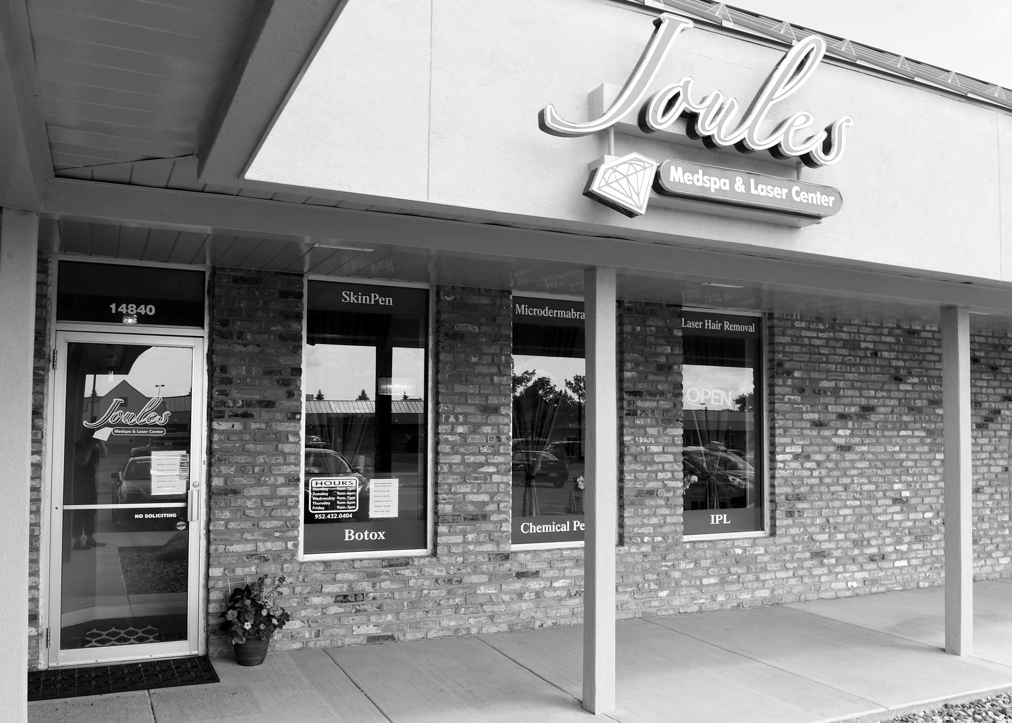 Joules Medspa outside view