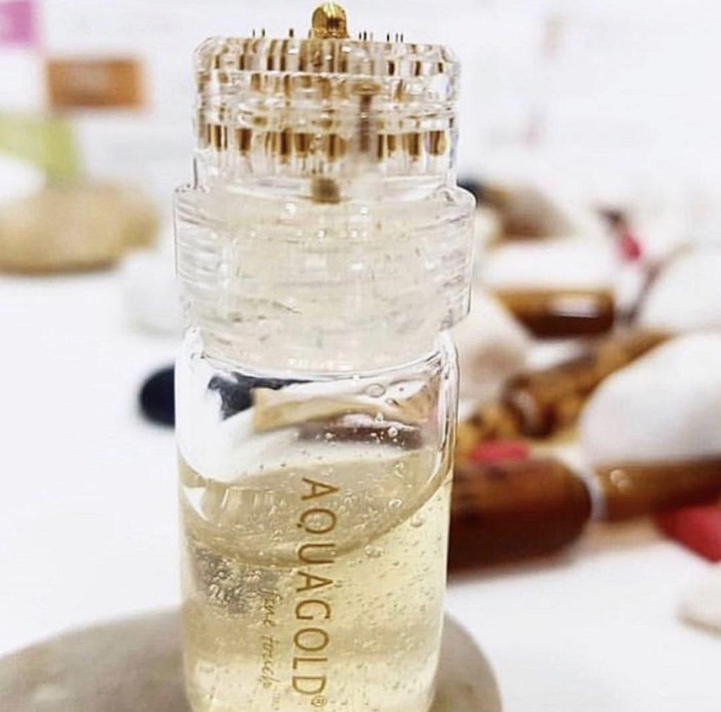Aqua Gold Vial